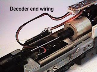 Decoder end loose wiring