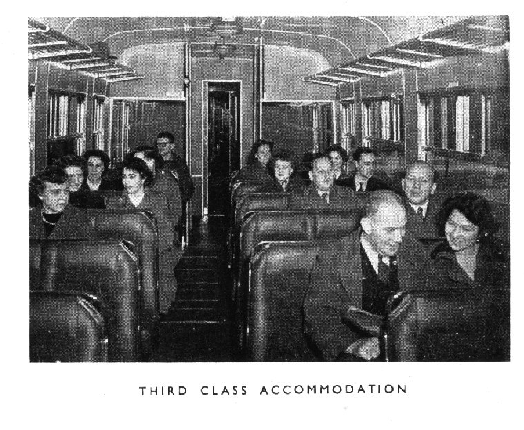 Third class accomodation