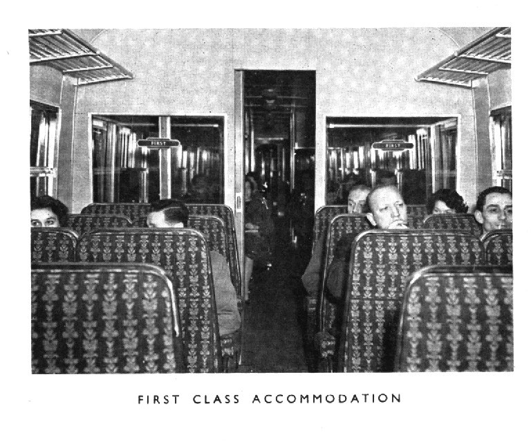 First class accomodation,