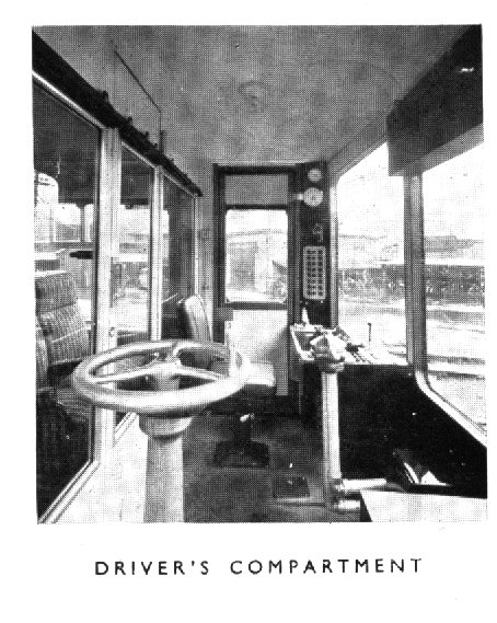 Driver's compartment,
