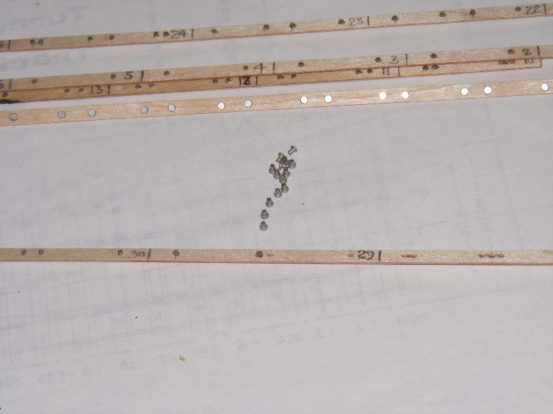 loading timbers with rivets